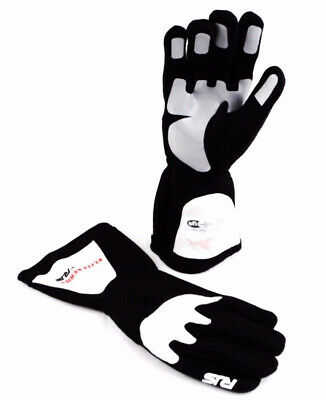 Rjs Racing Sfi 3.3/1 Elite Driving Racing Gloves Black Size Small 600030118