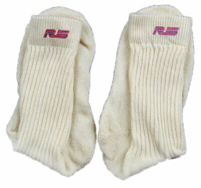 Racing Socks Sfi 3.3 Approved White Underwear Socks Nomex Rjs Racing Size Small