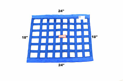 "Racerdirect  Sfi 27.1 Race Window Net Rectangle 24"" X 18"" Blue"