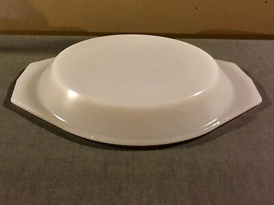Vintage Arcopal France - Lid for Casserole Dish - White