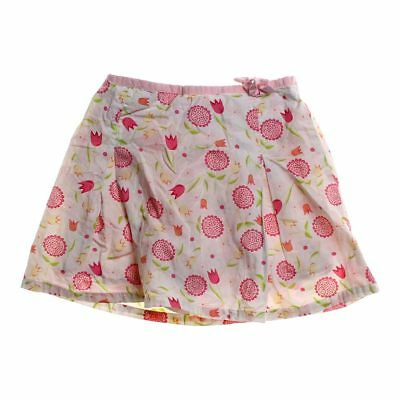 Bunny Business Girls Adorable Skirt, size 4/4T,  pink, white,  cotton