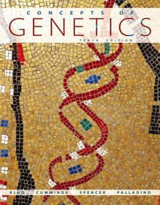 Concepts of Genetics by William S. Klug: Used