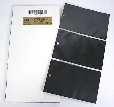 New Tap Photo Album Leaves Mats Fr 46 Black 4x6 Vertical