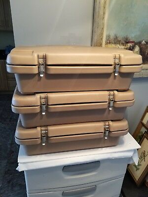 LOT OF 3 Cambro Top Loading Insulated Food Pan Carrier