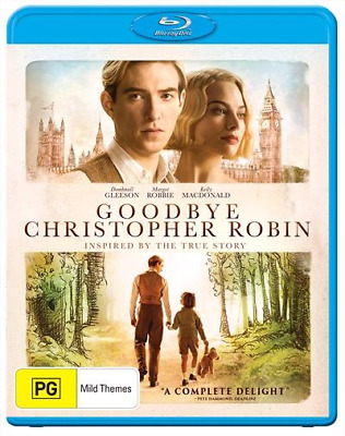 Goodbye Christopher Robin (2018) (Blu-ray) (Region B) New Release