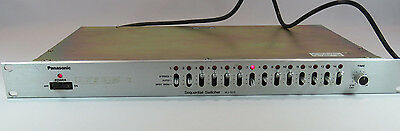 Panasonic Video Sequential Switcher Model WJ-525 JH