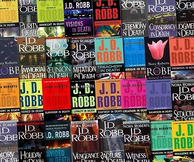 The JD Robb -Nora Roberts In Death Series 44 Audiobooks Collection DVD-MP3