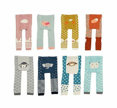 CHUNG Baby Toddler Boys Girls Cotton Footless Ankle Length Tights Soft Stretc...