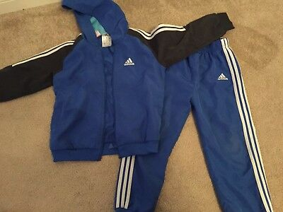 Boys  Adidas Tracksuit Jogging Trousers & hoody. Age 3 - 4 years.