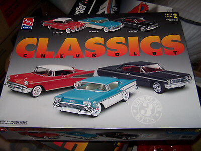 AMT/ERTL KIT WITH THREE 1/25th SCALE CLASSIC MODEL CARS