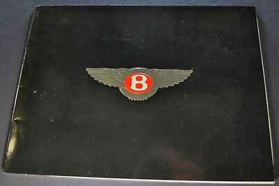 1988-1989 Bentley Brochure Continental Mulsanne S Turbo R Eight Excellent Orig