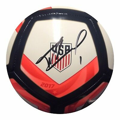 36ed57be1 Tim Howard Authentic Signed Gold Cup Soccer Ball (COA) TEAM USA