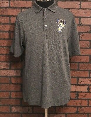 d59831d20d Florida International University FIU Panthers Men's Polo Shirt Size Medium