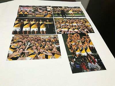 20 Richmond Tigers 2017 Premiers 4X6 Gloss Photo Set New Not Signed Unsigned