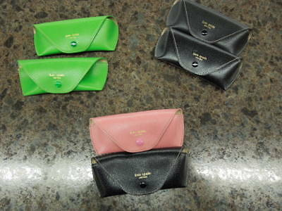 Brand New- (2) Kate Spade Soft Cases- Fits Optical Or Small Glasses  $10.16