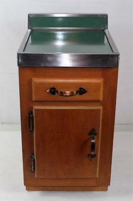 Vintage Salesman Sample 1950s Kitchen Cabinet & Laminate Countertop Mid Century