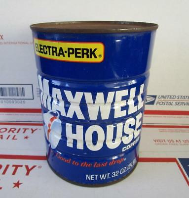 SEALED NOS 1970's VINTAGE MAXWELL HOUSE COFFEE 32 OZ. CAN