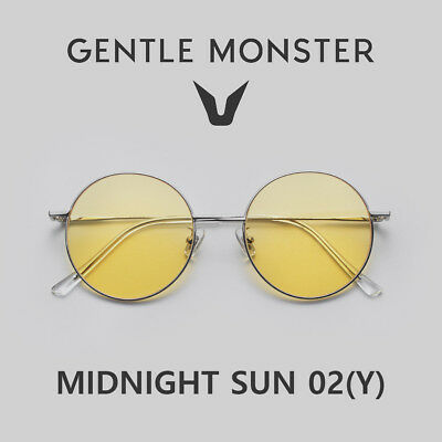 8baef4bc20 2018 NEW GENTLE MONSTER Authentic Sunglasses Fashion Eyewear MIDNIGHT SUN  02(Y)