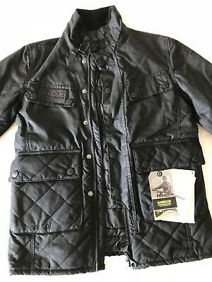 Barbour International Jacket Size M Slim Fit