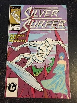 Silver Surfer#2 Incredible Condition 9.4(1997) Marshall Rogers Art!!