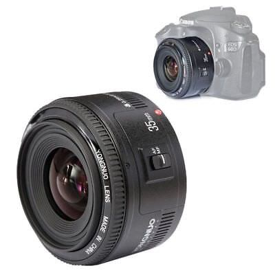 Yongnuo YN35mm 35mm F/2.0 AF MF Wide Angle Fixed Lens for Canon Camera DSLR UK