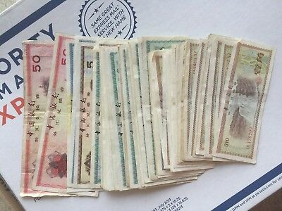 Lots of 69 Chinese Certificate yuan and jiao