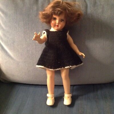 """VIntage   Ideal Toy Doll 14"""" Tall.  P 90"""