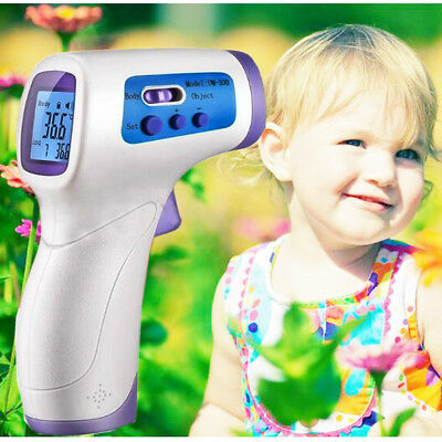 Handheld Infrared Thermometer LCD Non-contact IR Temperature Digital Laser Gun