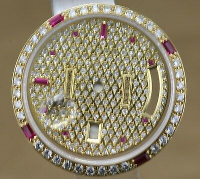 Natural Diamond Custom Made After Market 18K Solid Gold Dial,Bezel,Crystal