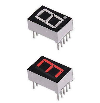 """4 Pieces 0.56"""" 7 segment RED LED display common anode"""