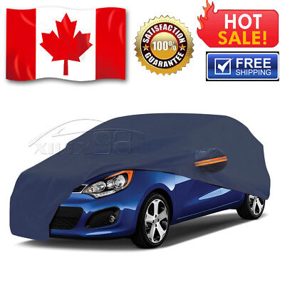 New Full Car Cover Waterproof Heat UV Dust Rain Resistant All Weather Protection