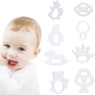 Food Grade Baby Silicone Teether For Teething Chew Toys Animal Safety Pacifier