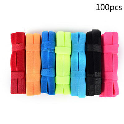 100pcs Fastener Nylon Ties Wire Cable Strap Loop Management Convenient Tool^