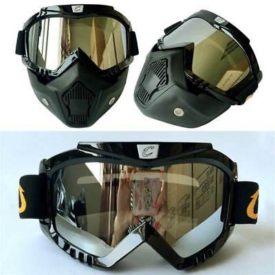 Outdoor Motorcycle Goggles Men Women Mask Cycling UV400 Anti Wind Ski Glasses