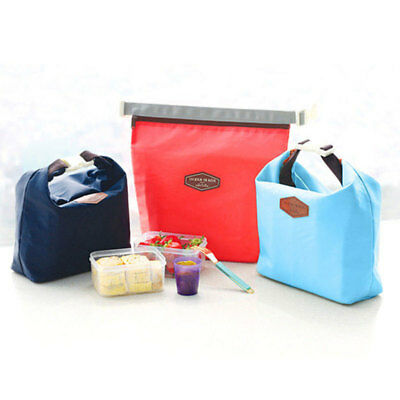 Simple Designed Waterproof Insulated Thermal Picnic Cooler Lunch Box Storage Bag