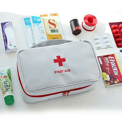 Empty First Aid Kit Pouch Home Medical Emergency Travel Rescue Case Bag