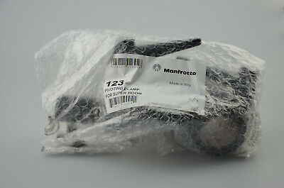 Manfrotto 123 neigegelenk for Pipes Ø 35 mm with 16mm Sleeve Tilting Pivoting