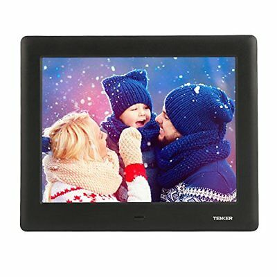 """7"""" HD LCD High Resolution Digital Picture Photo Frame Auto Player Remote Black"""