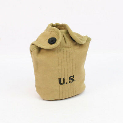 US WW2 M1910 Water Bottle Cover Reproduction Webbing by Combat Serviceable AL112