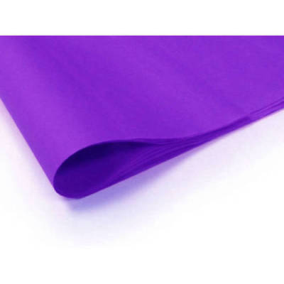 """50 100 ream OF PURPLE ACID FREE TISSUE WRAPPING PAPER SIZE 450 X 700MM 18 X 28"""""""