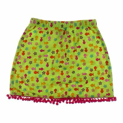 Miss Tee V-Us Girls Fish Graphics Skirt, size 5/5T,  green,  cotton