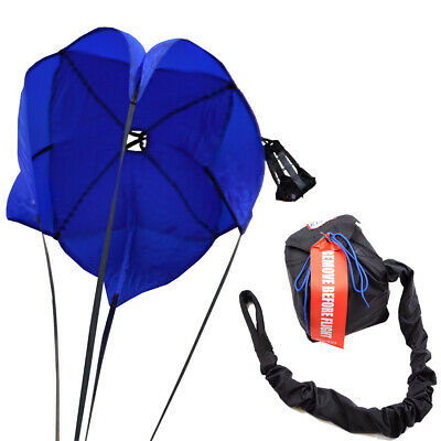 Rjs Racing Equipment Drag Parachute Spring Loaded Blue Drag Safety Chute