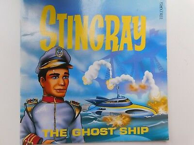 The Ghost ship Stingray Paperback 1992 Boxtree ITC Gerry Anderson