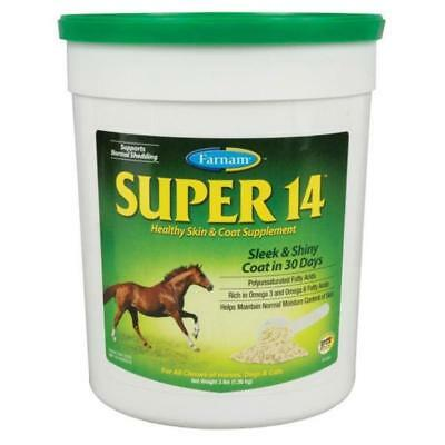 Super 14 Horse Equine Dog Canine Skin Shiny Coat Show 3 Pounds Powder