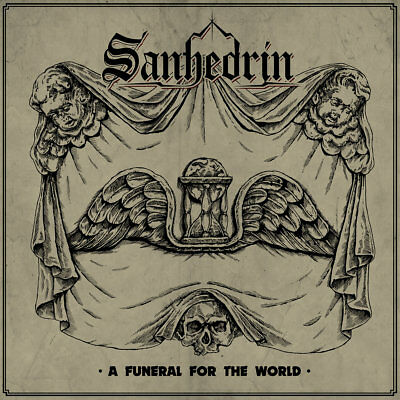 SANHEDRIN -  A Funeral for the World (LIM.300 GREEN V.*US METAL*PRIVATE*I.MAIDEN