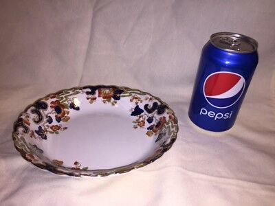 """Keeling & Co. Losol Ware 7-1/2"""" Coupe Soup Bowl Tokio Pattern # 1893 England"""