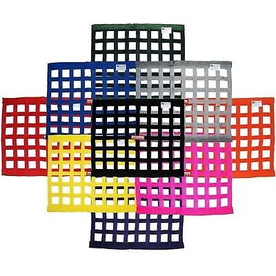 "Racerdirect.net Sfi 27.1 Window Net Rectangle 24"" X 18"" Any Color"