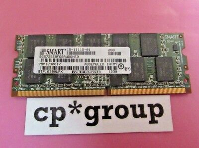 Cisco 15-11115-01 Smart 4GB (2x2GB) 2Rx8 PC2-4200N SO-Dimm Router RAM Memory Kit