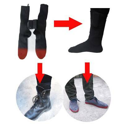 Women Thermal Socks Electric Warm Winter Rechargeable Heated Socks for Cold Feet