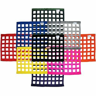 "Racerdirect.net Any Color Sfi 27.1 Race Window Net Rectangle 24"" X 18"" Any Color"